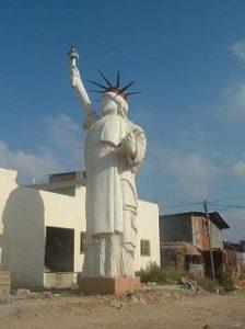 自由の女神像なるもの